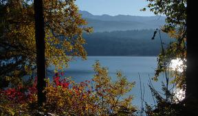 Fall at Priest Lake