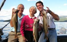 Fishing on Priest Lake